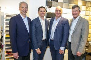 Toby Grove, David Fisk, Tyler Ross, and Kurt Petersen