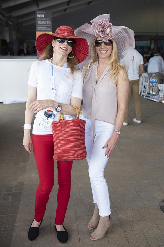 Karen Turner and Lori Blair