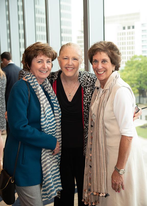 Jane Hanratty, Joan Slater, and Avery O'Neill