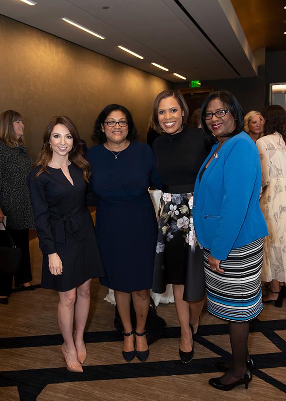 Samantha Davies, Nada Ruddock, Laura Harris, and Linda Delley