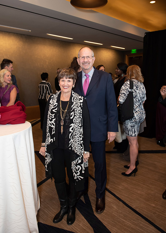 Carol Poe and Congressman Ted Poe (retired)