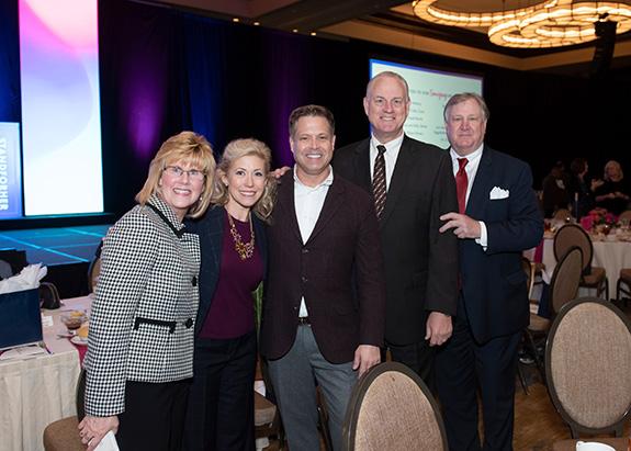 Methodist Health System – ProtectHER Award Recipient: Doreen Freeman, Calvert Collins-Bratton, Brad Sellers, Jim Scoggin, and Jim Johnston