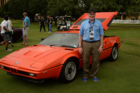 1st in Class - German Modern: John Kobell, 1980 BMW M1