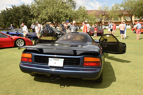 1st in Class Supercar: Barry Fromberg, 1991 Jaguar XJR-15