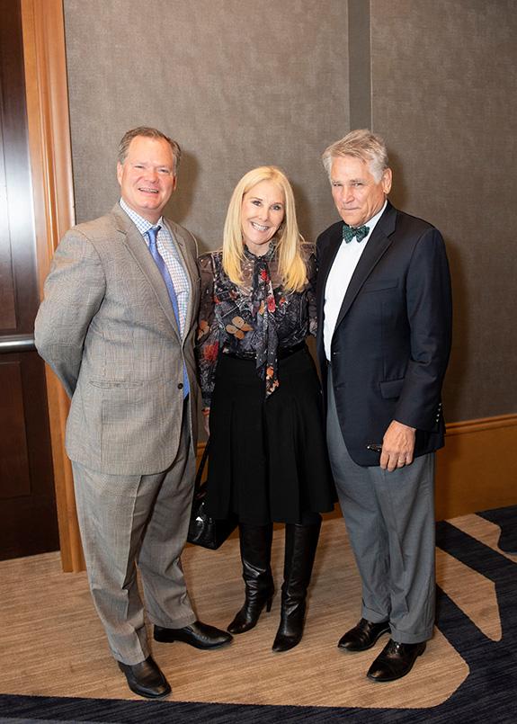 Tom Thornton, Katherine Wynne, and Chip Murray