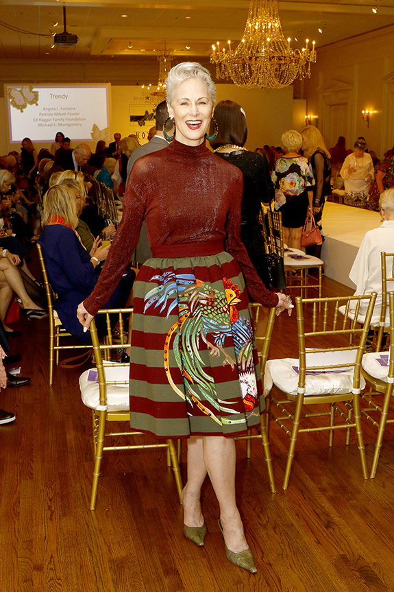 Jan Strimple, Fashion Show Producer and Community Award honoree