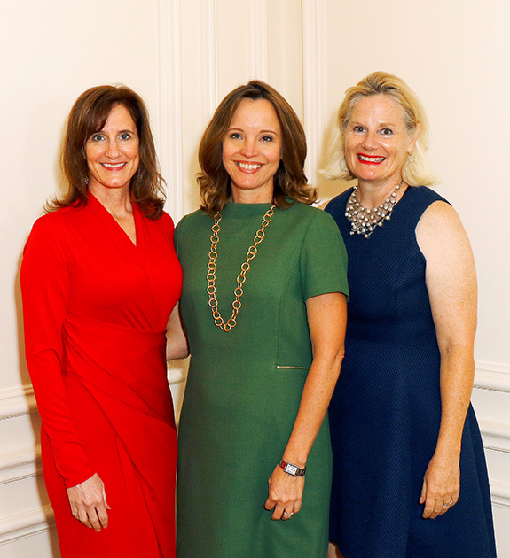 Anne Ligon, Kim Brannon, and Kristin Cordika