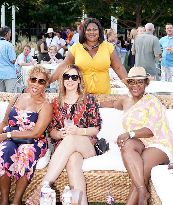 Dee Brown, Shenee Rayford, Andrea Wehler, and Janice Wilson