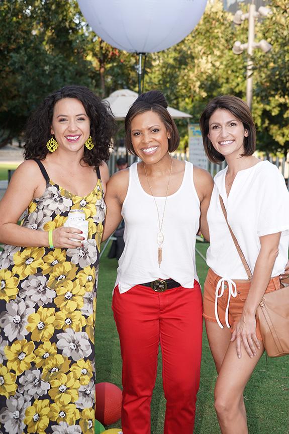 Hannah Davis, Laura A. Harris, and Shannon Murray