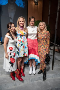 Tina Craig, Lizzie Means Duplantis, Sarah Means, and Nasiba Hartland-Mackie