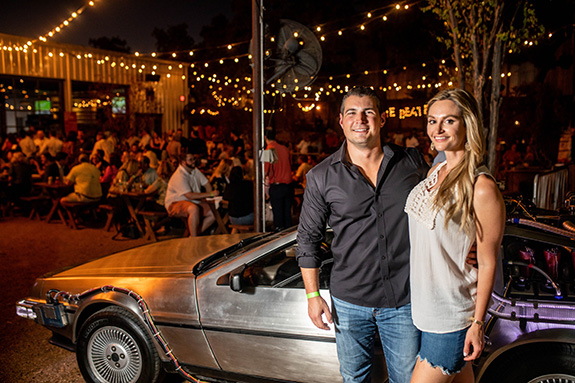 Mark Hiduke and Heather Ardeel