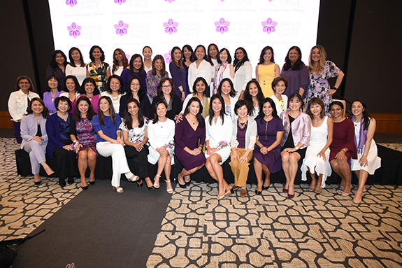 Orchid Giving Circle at Texas Women's Foundation members