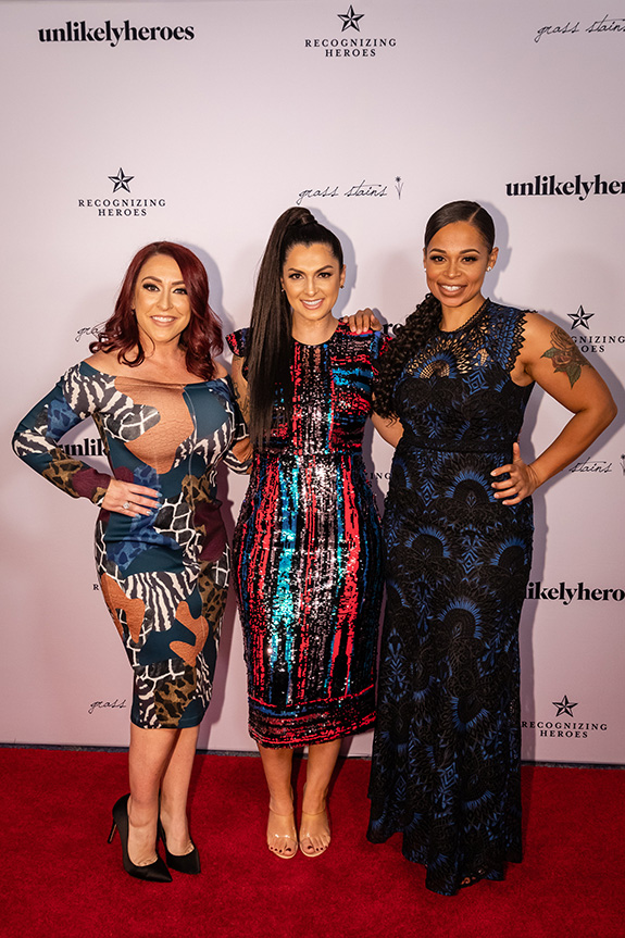 Rebekah Charleston, Rebecca Bender, and Leah Albright