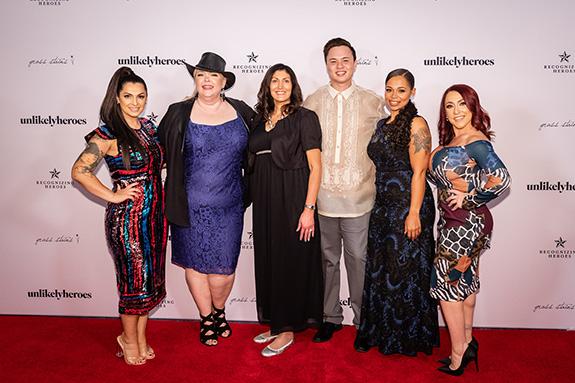 Rebecca Bender, Kathy Bryan, Jeri Moomaw, Erik Gray, Leah Albright, and Rebekah Charleston