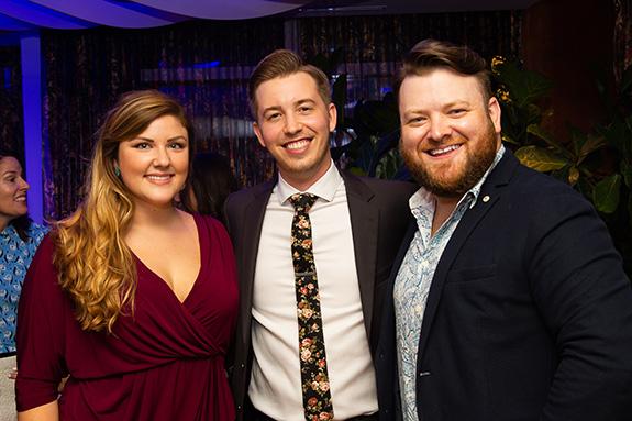 Hayden Kendrick, Noah Todd, and Zach Hess