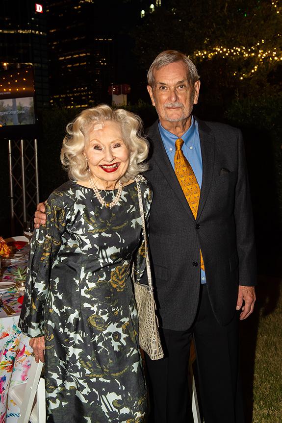 Nancy Shutt and Philip Henderson