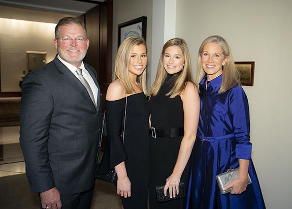 J.R., Caroline, Madelaine, and Natalie Thomas