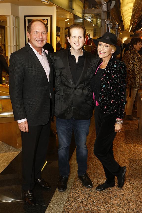 Mark Porter, Madison Porter, and Anne Davidson