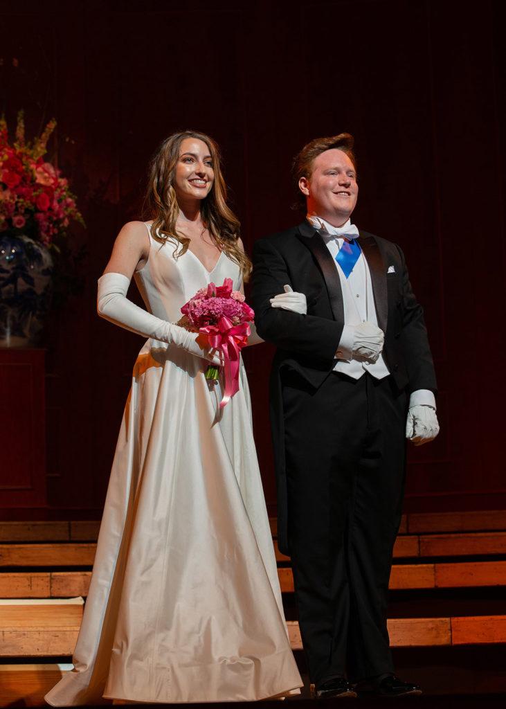 Audrey Magnuson and Spencer Hardin