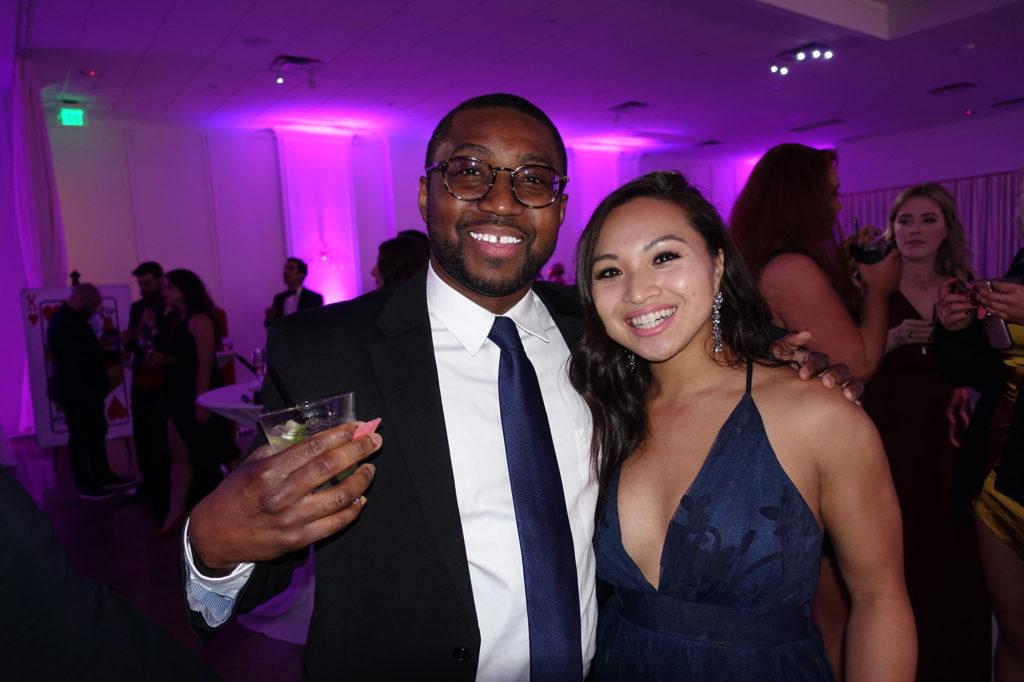 Phillip Alcorn and Christina Boonkue