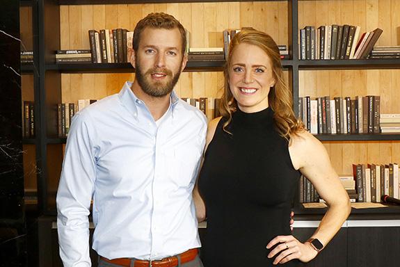 Wesley Sheridan and Elizabeth Langdon