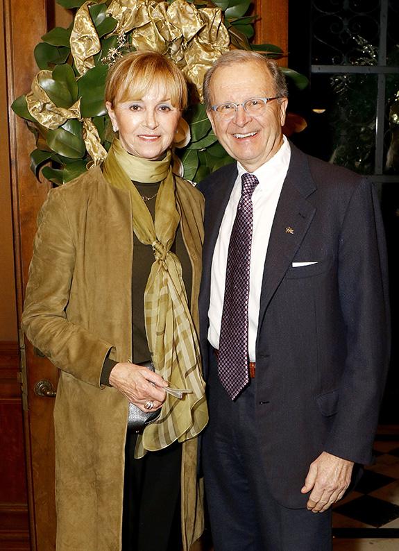 Tina and Dr. Goran Klintmalm