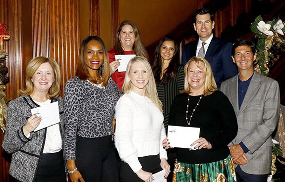 Top Row: Kyra Barnett, Gigi Jethva, and John Mitchener; Bottom Row: Beth Dexter, Tiffany Archibald, Amanda Crowley-Rios, Melissa Dalton, and Dr. Giuliano Testa