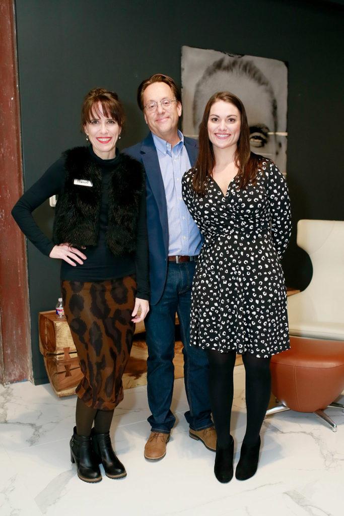 DeAnn Stewart, Stuart Tinsley, and Sarah Manning