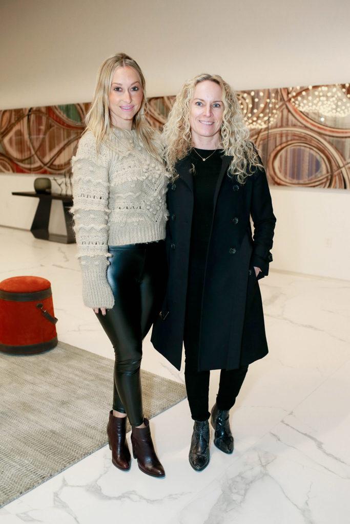 Jenny Figy and Tina Jeppesen