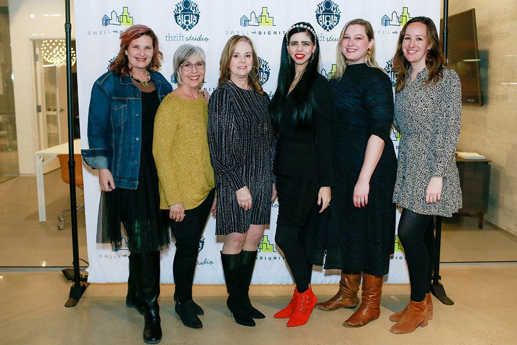 Laura Cismesia, Virginia Schoel, Kim Turner, Ashley Sharp, Caitlin Miller, and Teresa Fougerousse