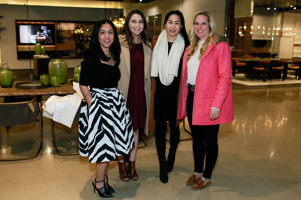 Monserrat Agredano, Sandra Kimble, Christine Tran, and Denae Copeland