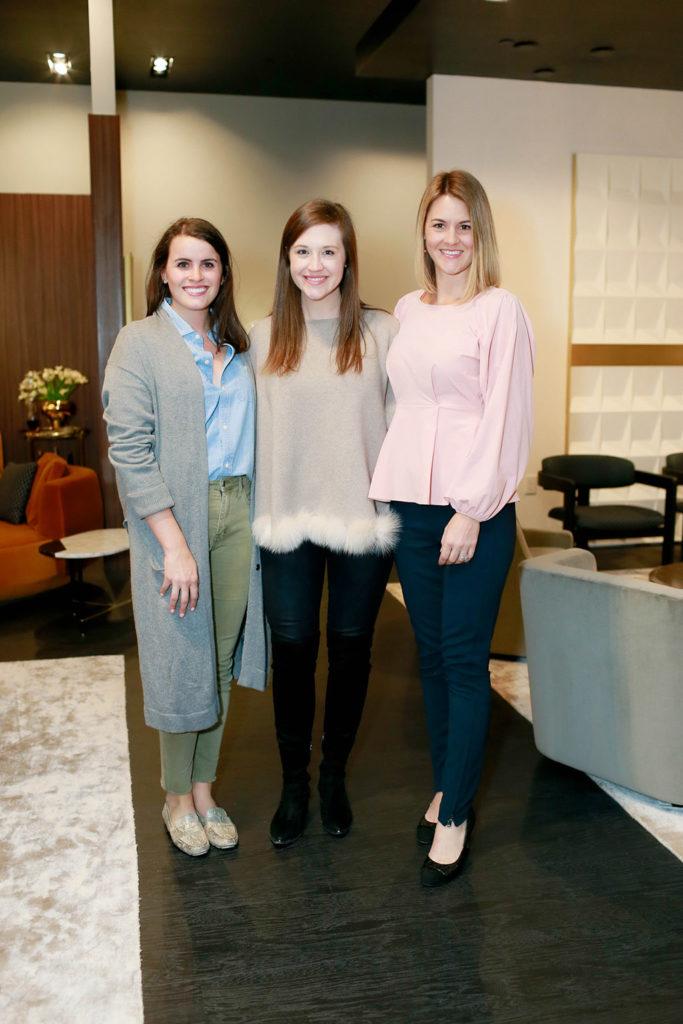 Sarah Singer, Holly Huff, and Nicole Cullum Horn