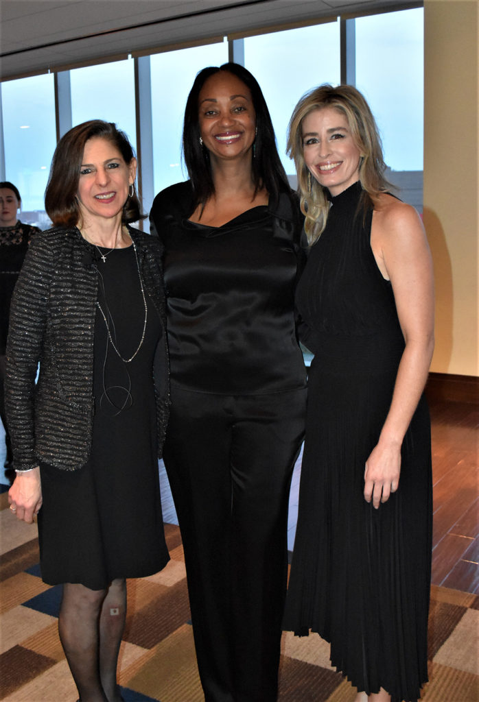 4word Founder and Executive Director Diane Paddison with Honorary Chair Alva Adams, and Gala Chair Charity Wallace.