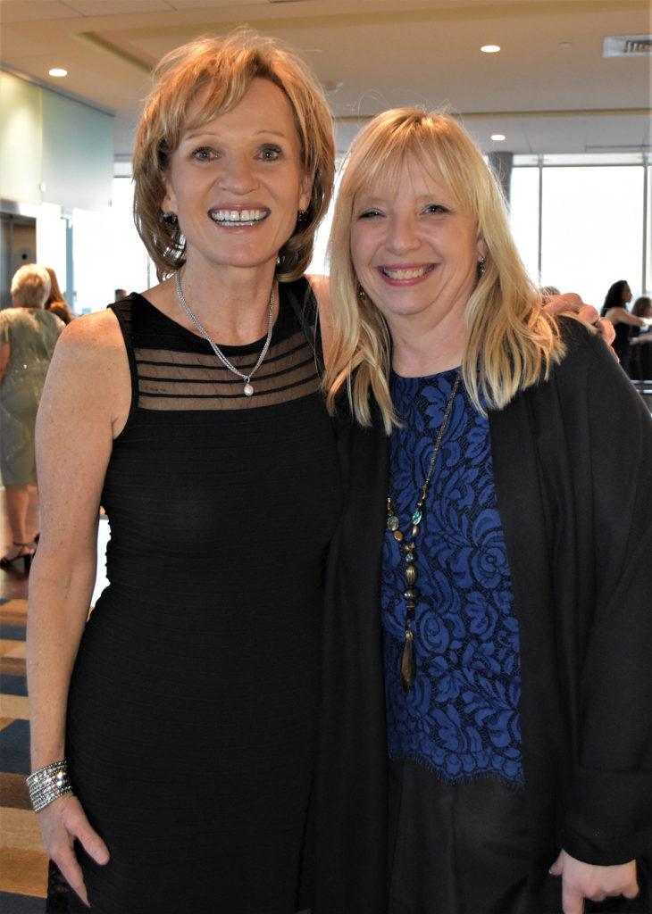 Pam Johnson and Vicky Gunning
