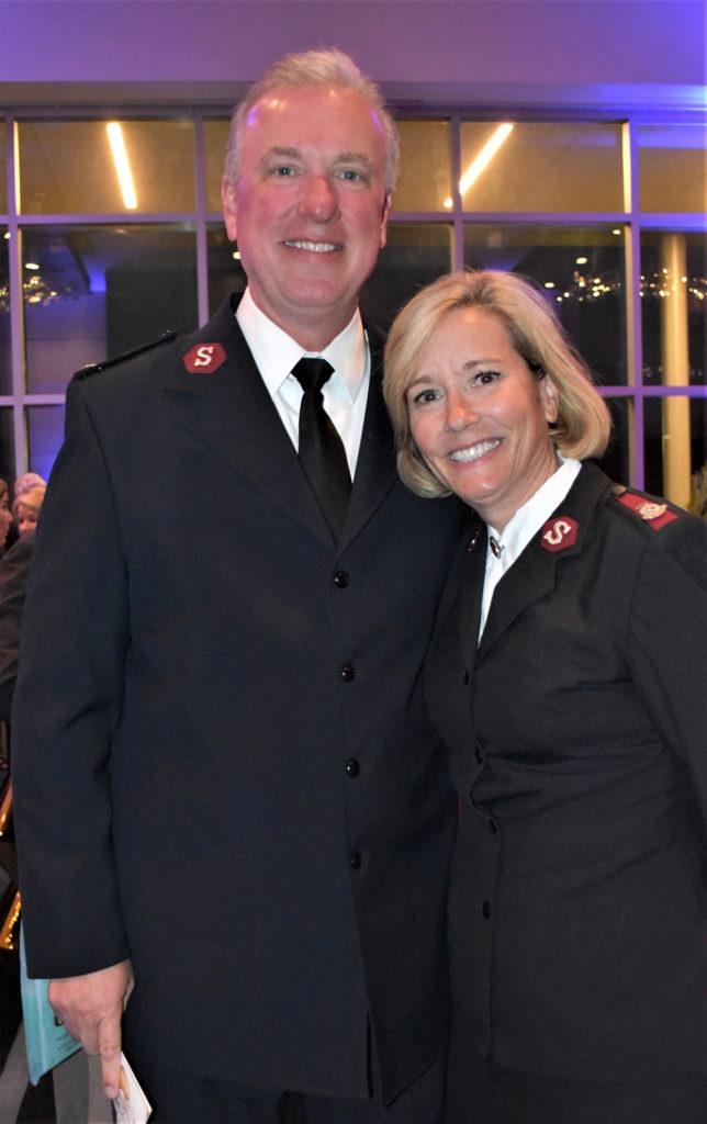 Majors Jon and Barbara Rich