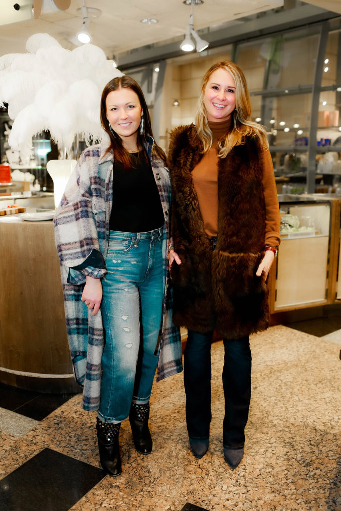 Brooke Roberson and Katie Cox