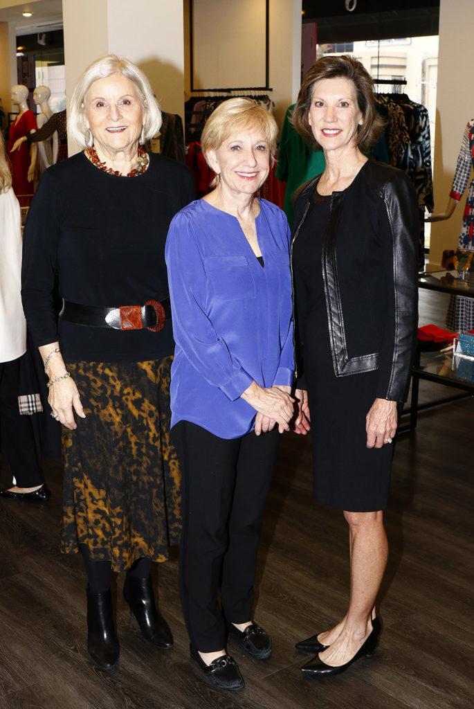 Lynn Biggers, Carol Ross, and Betsy Willis