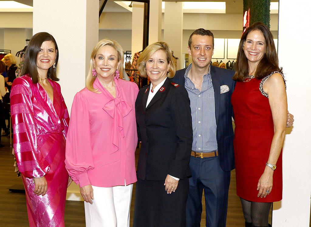 Nerissa von Helpenstill, Kim Hext, Major Barbara Rich, Dustin Holcomb, and Margaret Hancock