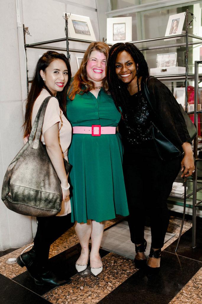 Debora Manusama-Sinaga, Anna Curnes, and Queen Smith