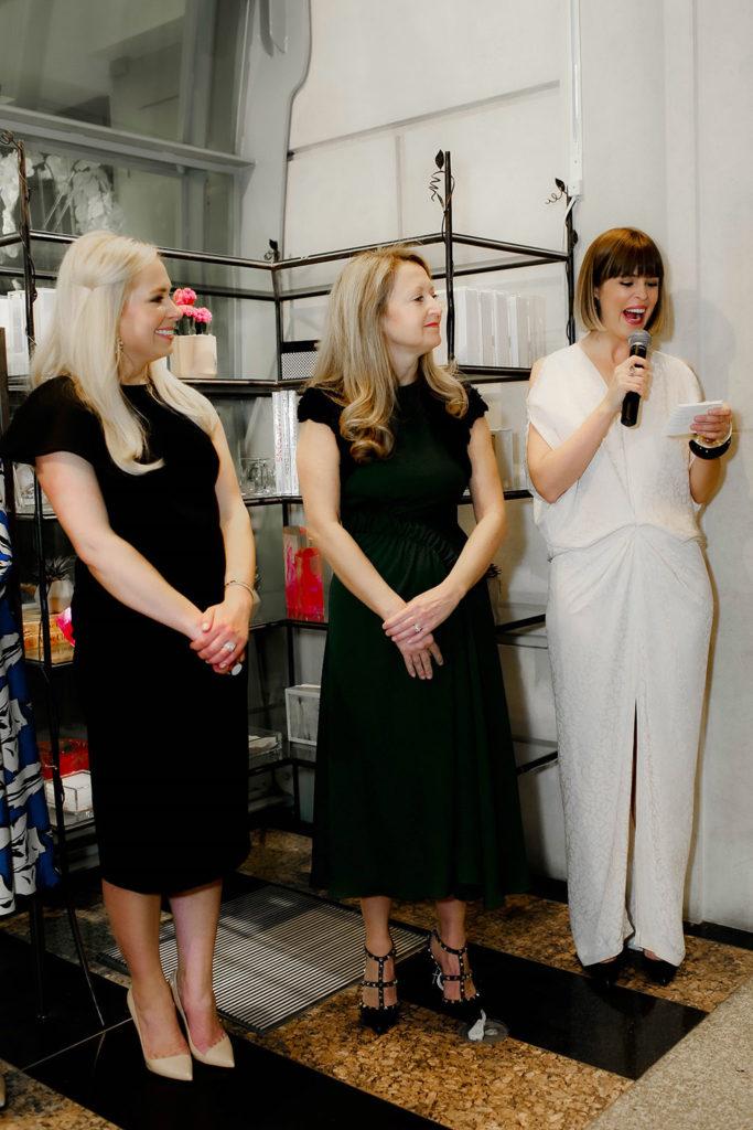 Katherine Wyker, Lynn McBee, and Elizabeth Fischer