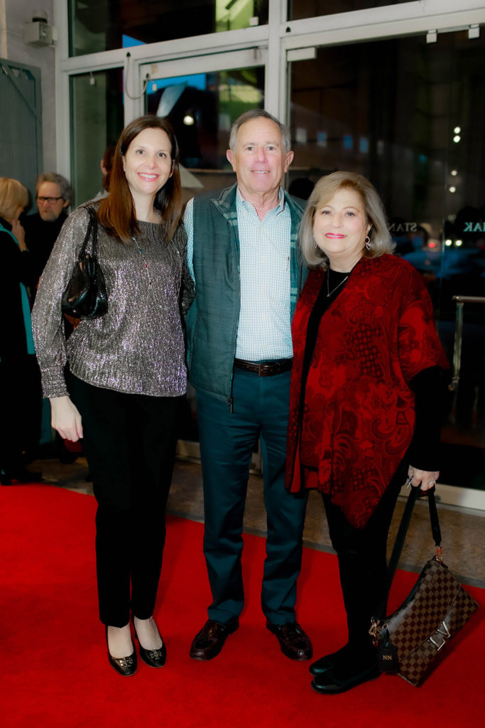 Lane Cates with Ron and Nancy Natinsky