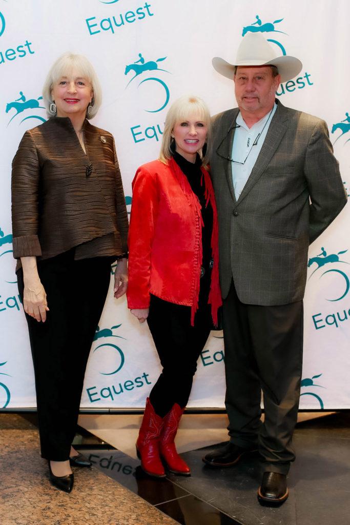 Lili Kellogg with Donna and Don Nabb