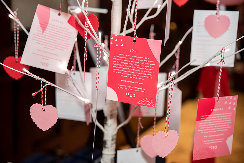 Love Tree Donation Cards to Fund a Specific Case