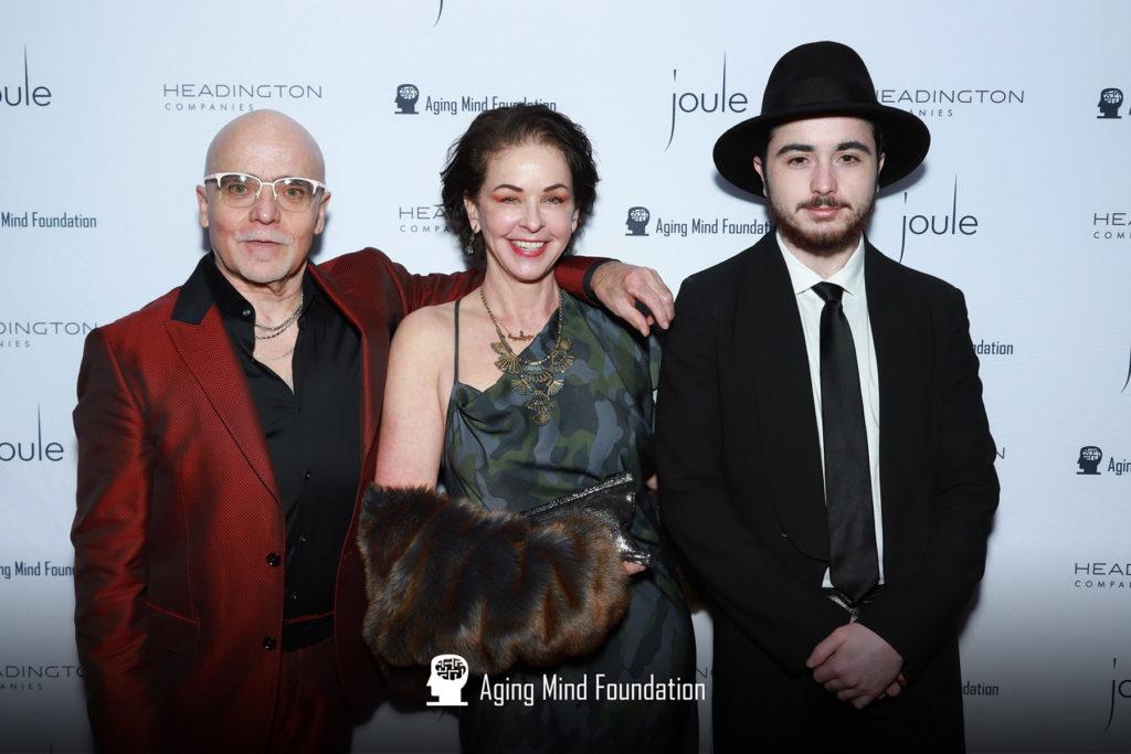 Michael, Julie, and Wolfie Tregoning
