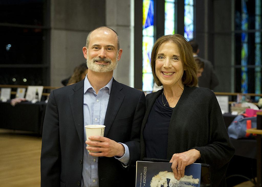 Paul Wilson and Shelley Kaufhold