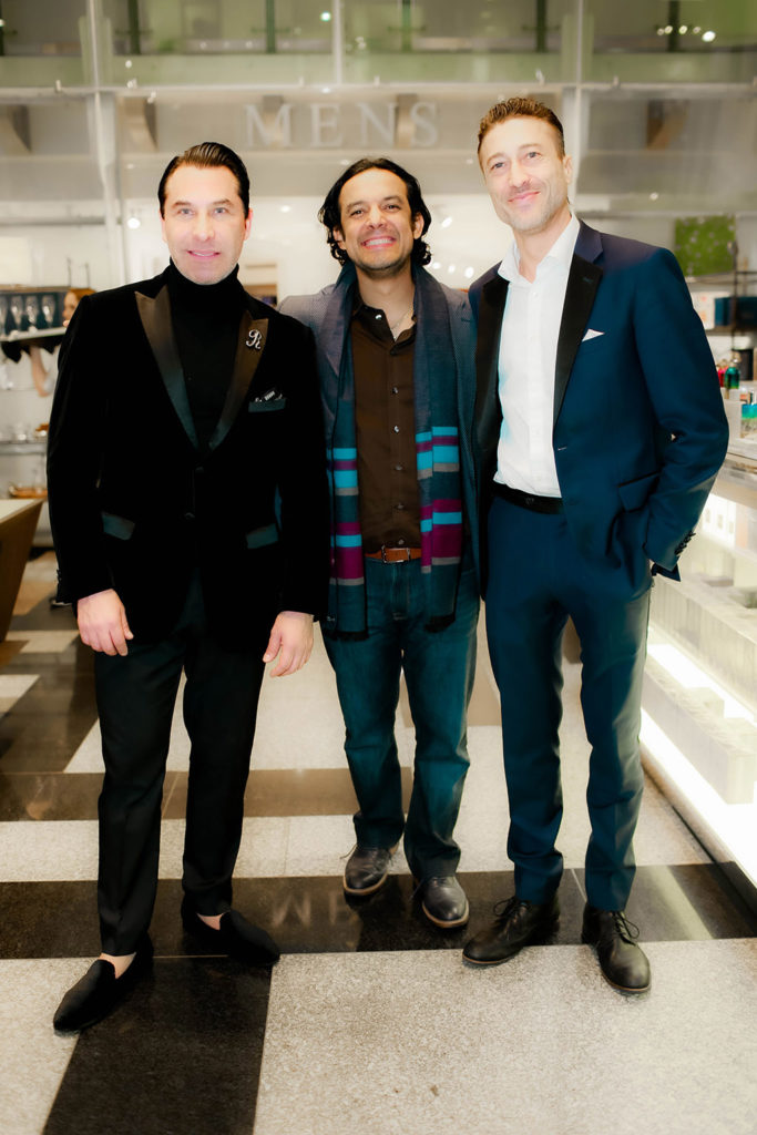 Raul Amigo, Miguel Ramirez, and Sergei Shor