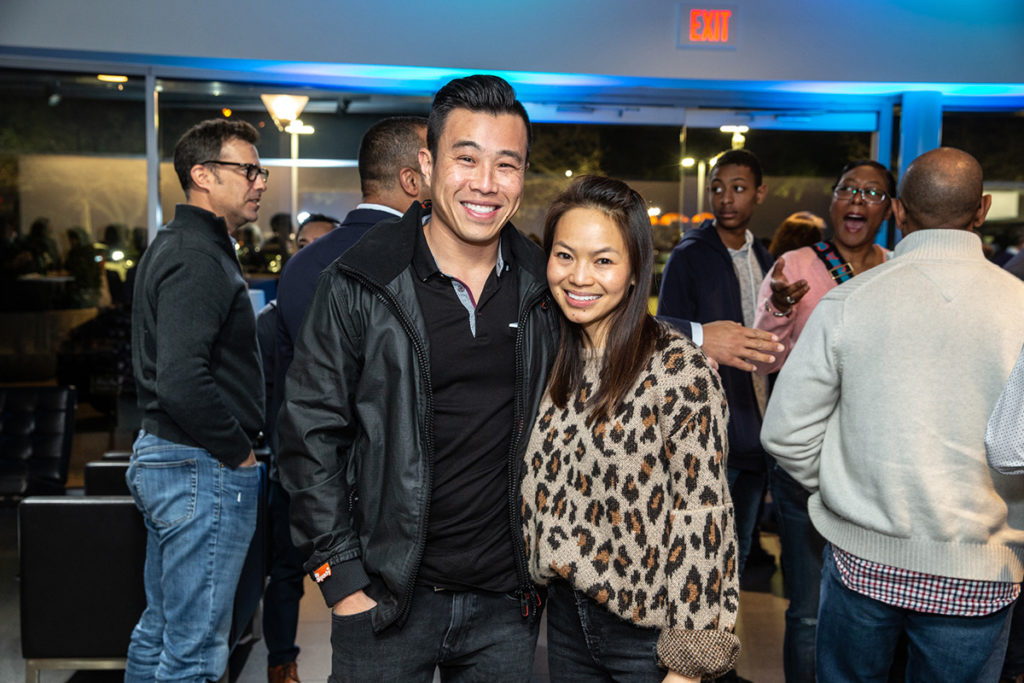 Caroline and Jeff Nguyen
