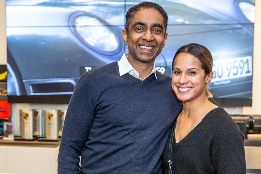 Mel and Neimat Guinawardena