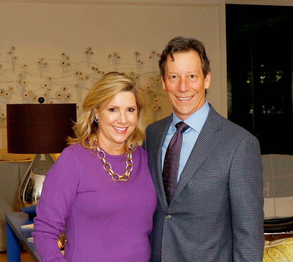 Kersten Rettig and Clark Knippers, gala chairs. (Photo: Diana Driensky)