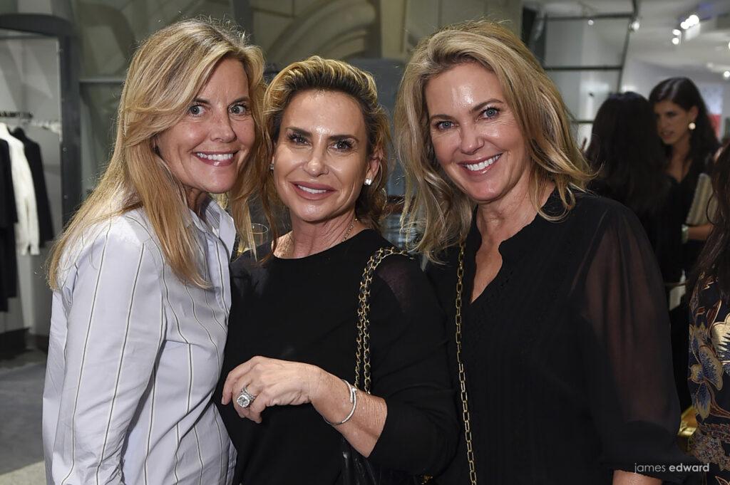Debra Nelson, Vivian Lombardi, and Tamara Payne